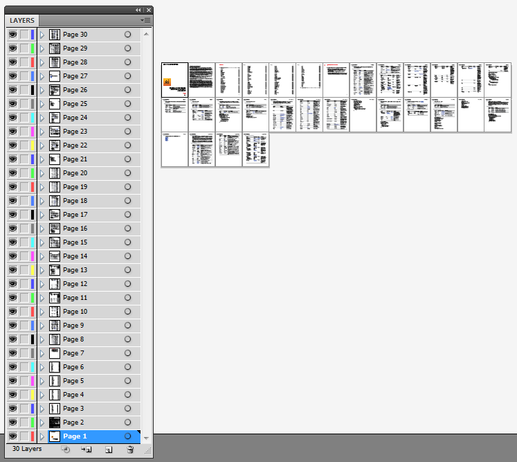 Open multi-page PDFs in Adobe Illustrator – The Graphic Mac