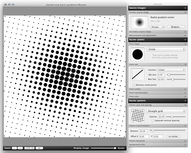 Create Vector Based Halftone And Raster Patterns With