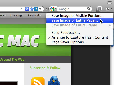 how to add screenshot to pages on mac