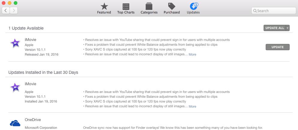 Mac App Store fail