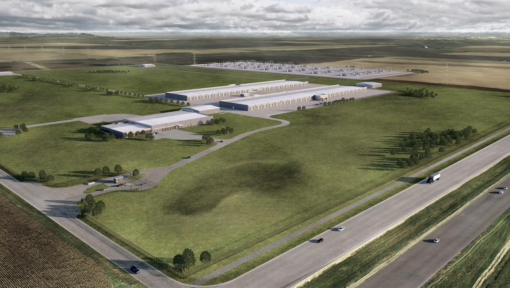 Apple Iowa data center