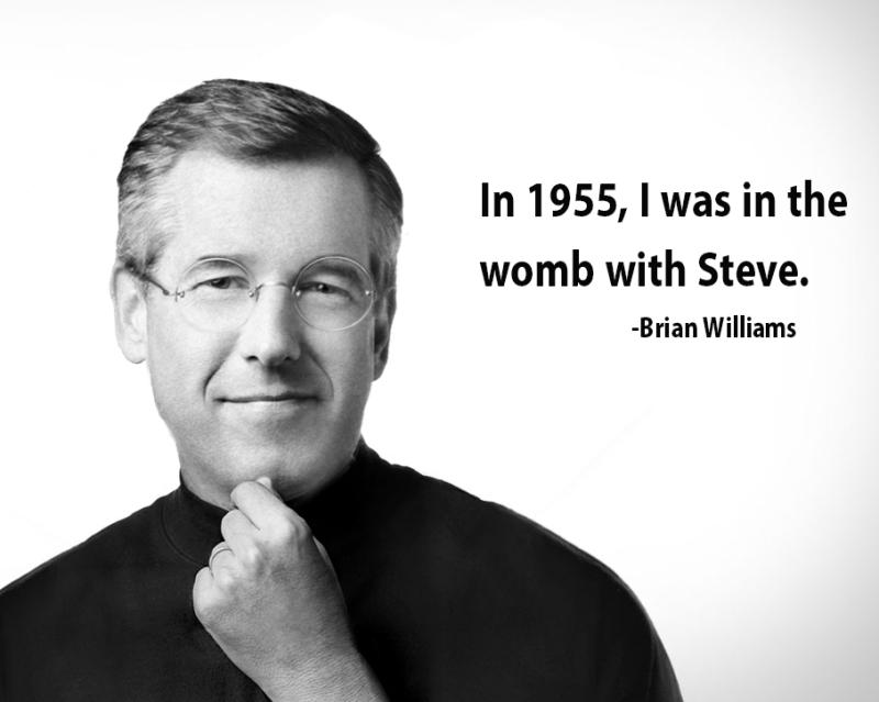 Brian Williams lie