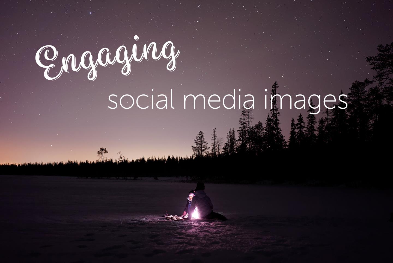 Engaging social media images