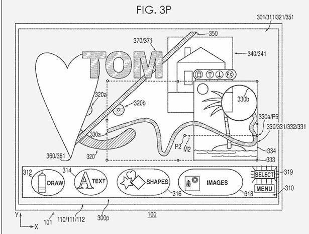 Apple graphics patent