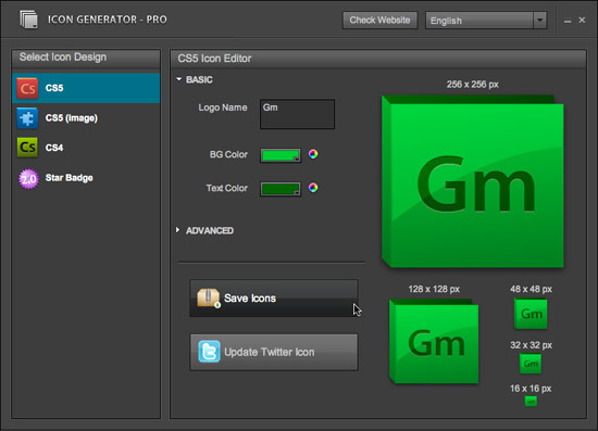 generator icon: