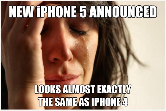 iPhone 5 meme