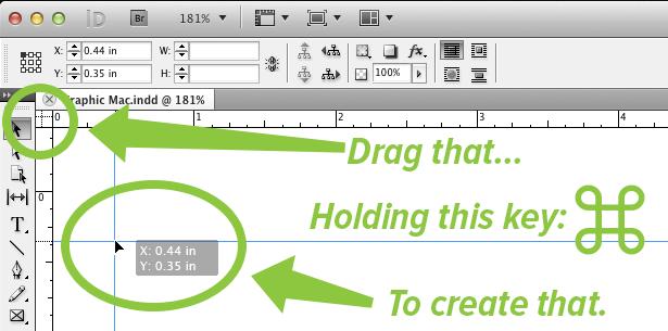 Create crosshair guides
