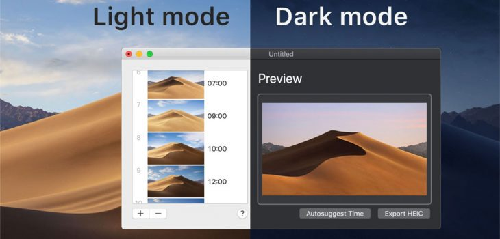Create Your Own Dynamic Wallpapers for macOS Mojave
