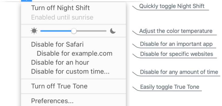 Take Control of Night Shift, True Tone & Dark Mode – The Graphic Mac