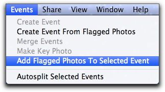 Move flagged photos