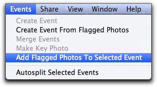 Move flagged photos