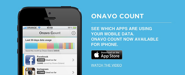 Onavo apps for iPhone