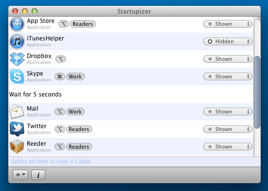 Startupizer for Mac