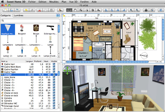 Redesign Your Home Or Office With Sweet Home 3d The Graphic Mac