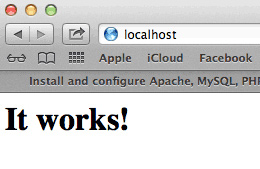 Mountain Lion Web Sharing