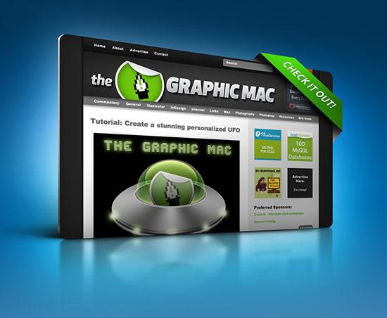 3D Web Page Display