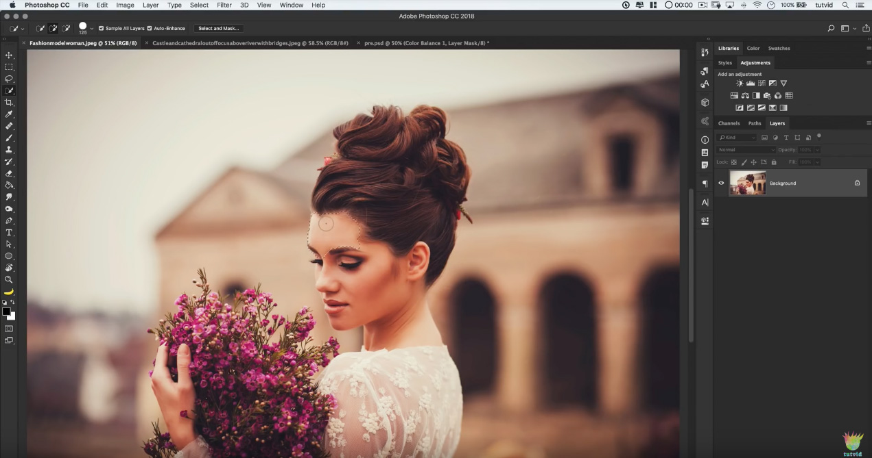 Free photo-fix Photoshop action – The Graphic Mac