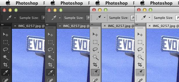 Photoshop CS6 interface