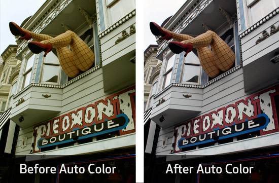 Photoshop's Auto Color