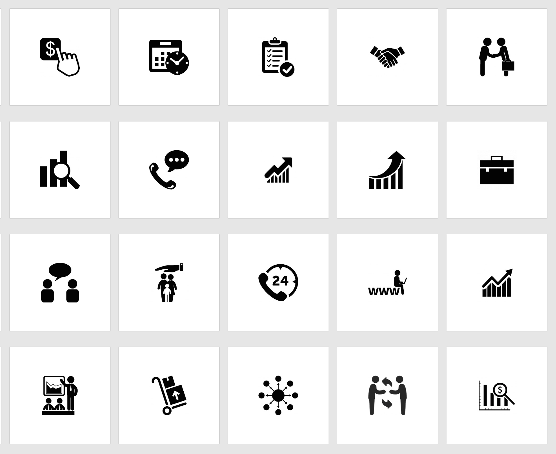 999 free business icons in vector format - The Graphic Mac
