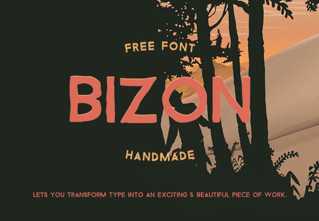 Bizon font