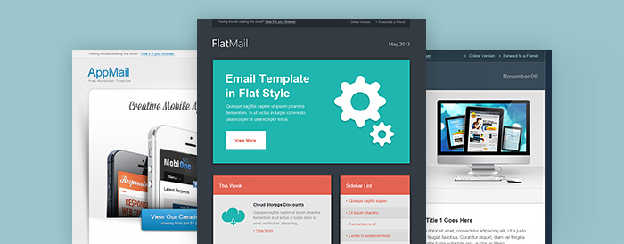 Free email newsletter PSD templates The Graphic Mac – Free Email Newsletter Templates Word