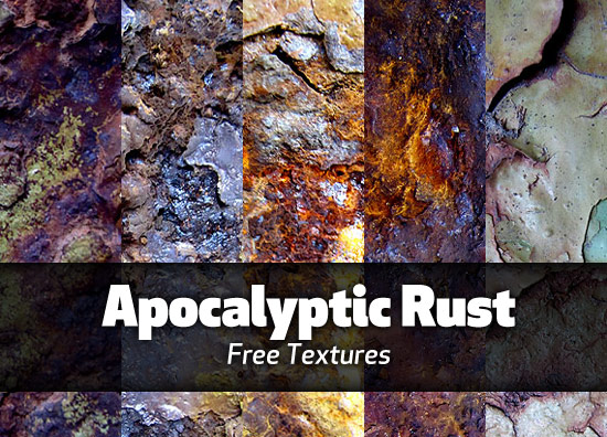 Apocalyptic Rust textures