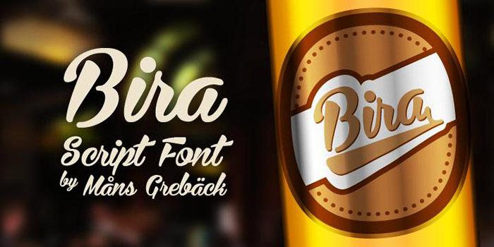 Bira font