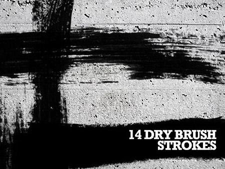 Free Dry Brush Strokes