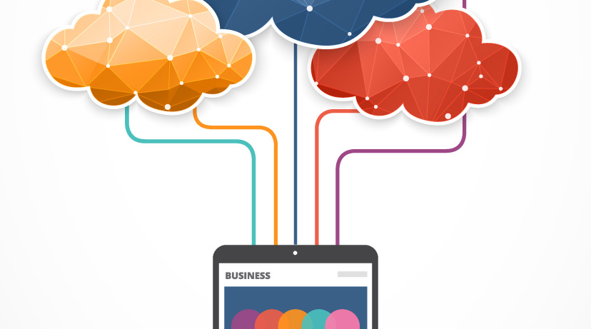 Free Cloud Computing vector art
