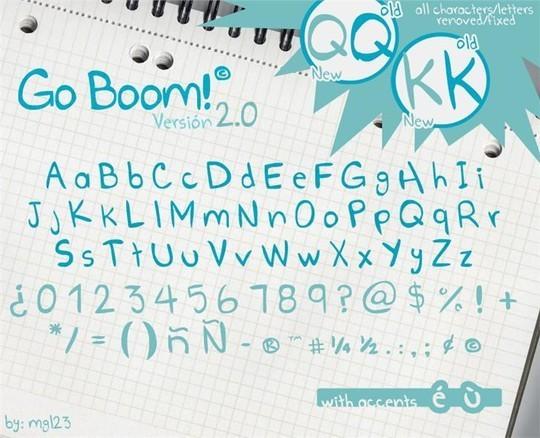 Free comic fonts