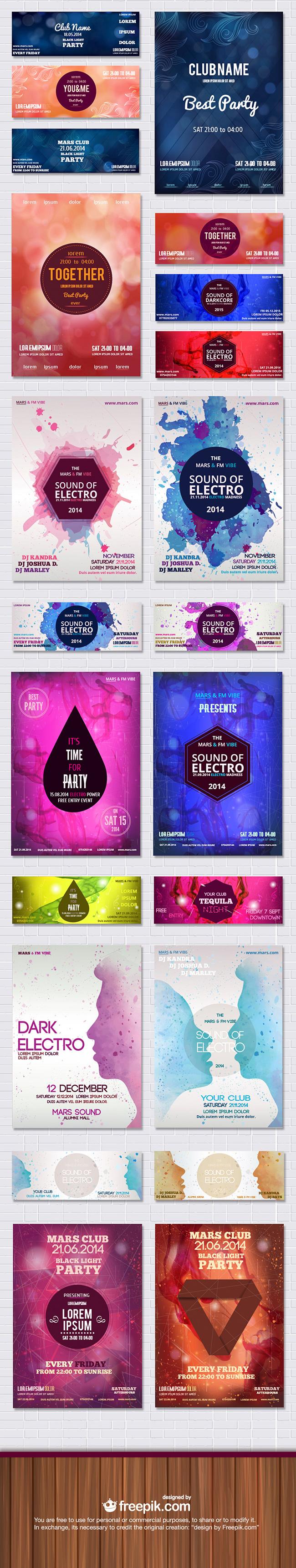 Freepik posters