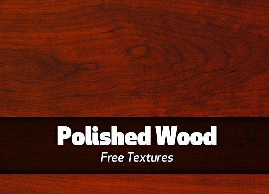 Free dark polished wood texture