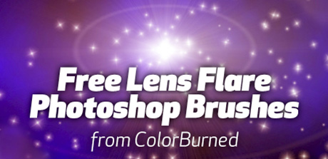 Free Photoshop lens flare brushes – The Graphic Mac