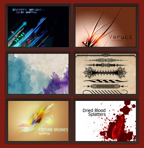 Download over 6,000 Photoshop brushes – The Graphic Mac