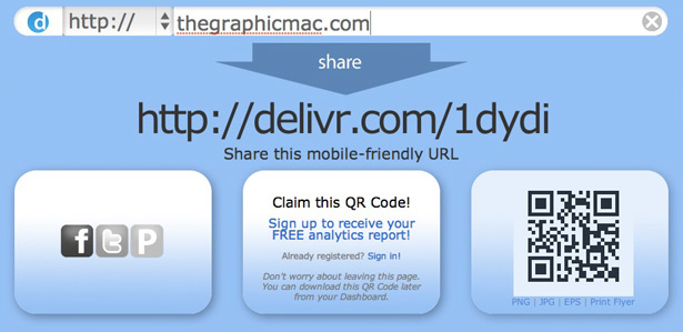 Delivr QR Codes