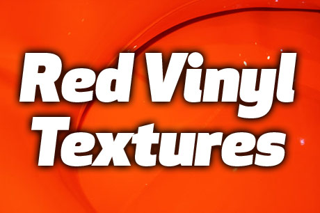 red vinyl textures