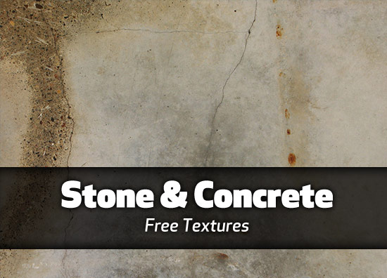 Stone and concrete textures