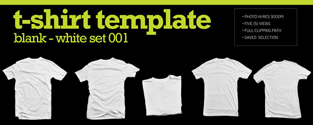 T-Shirt image template