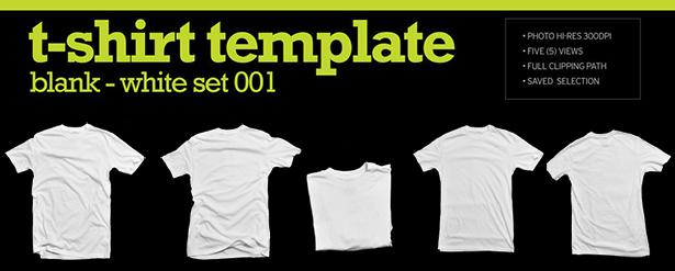 T-Shirt image template