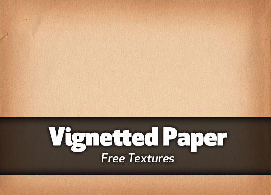 Vignetted paper textures