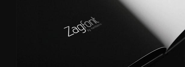 Free font: Zag