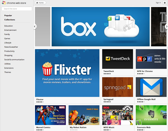 Google updates Chrome Store, and it looks very familiar – The