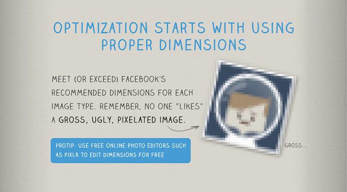 Facebook photo optimization