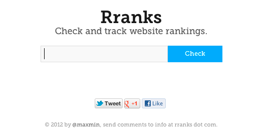 check website ranking