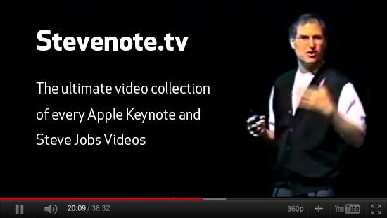Steve Jobs videos